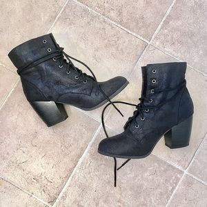 Charlotte Russe | Black Ankle Boots